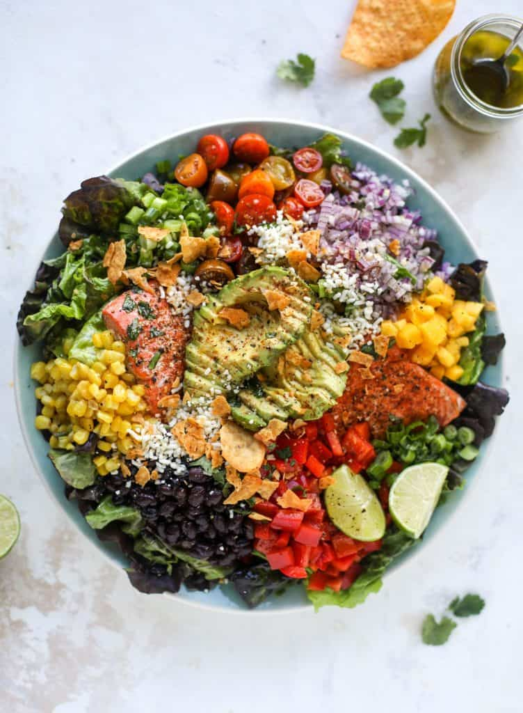 Southwest Salmon Salad