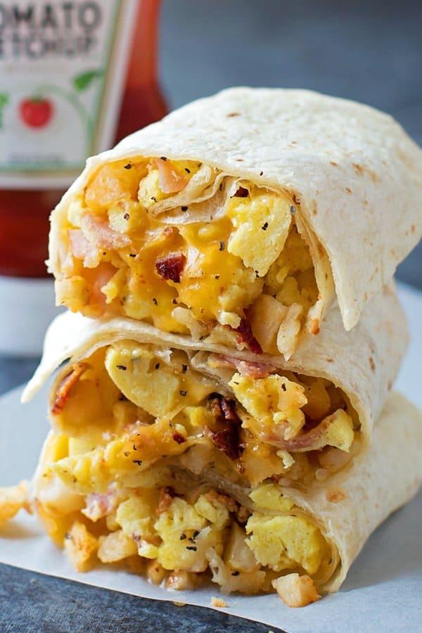 Freezer Friendly Breakfast Burritos