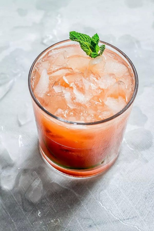 Tequila Mint Grapefruit Refresher