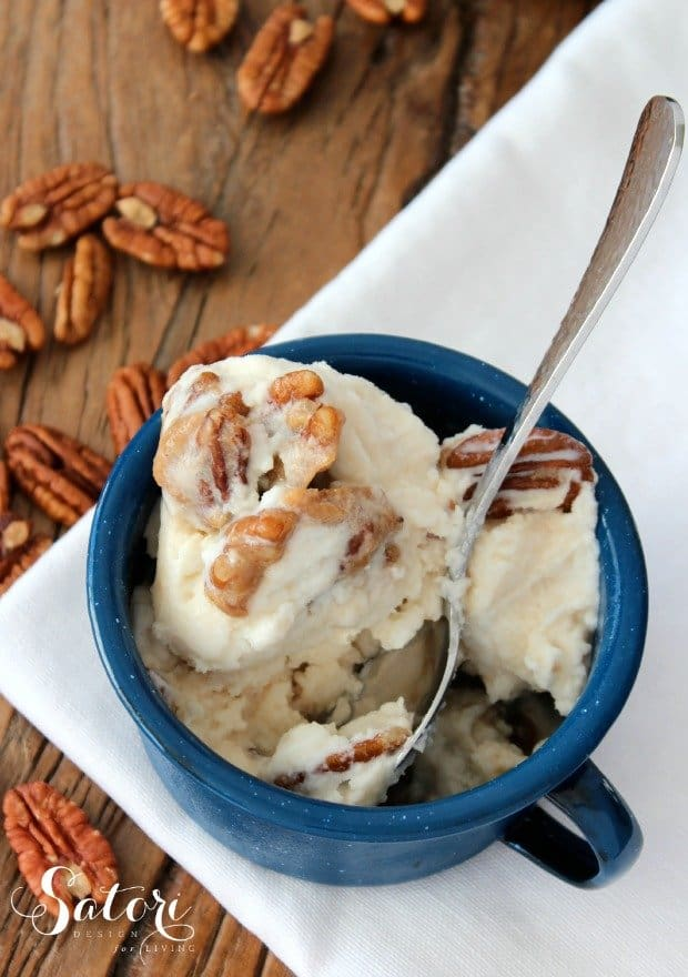 Caramel Pecan Ice Cream