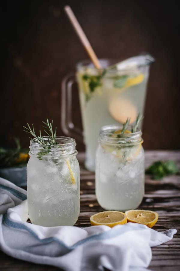 Mint Rosemary Lemonade