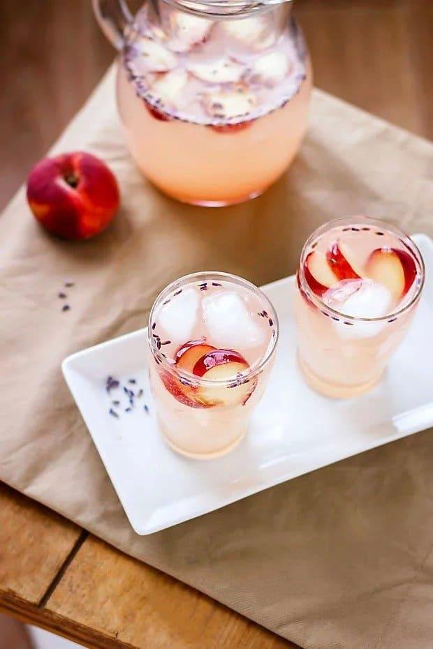 Peach Lavender Soda