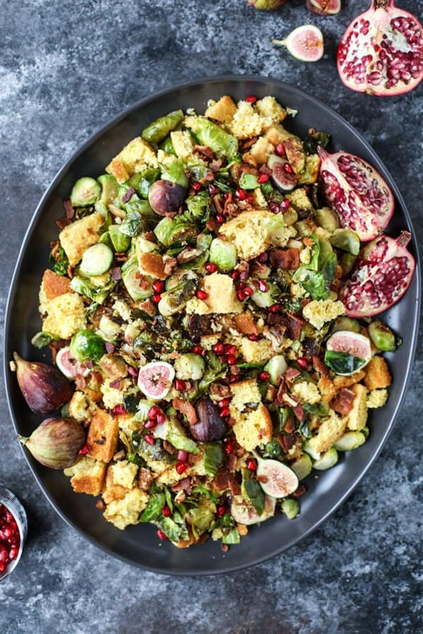 Brussels Sprout Panzanella