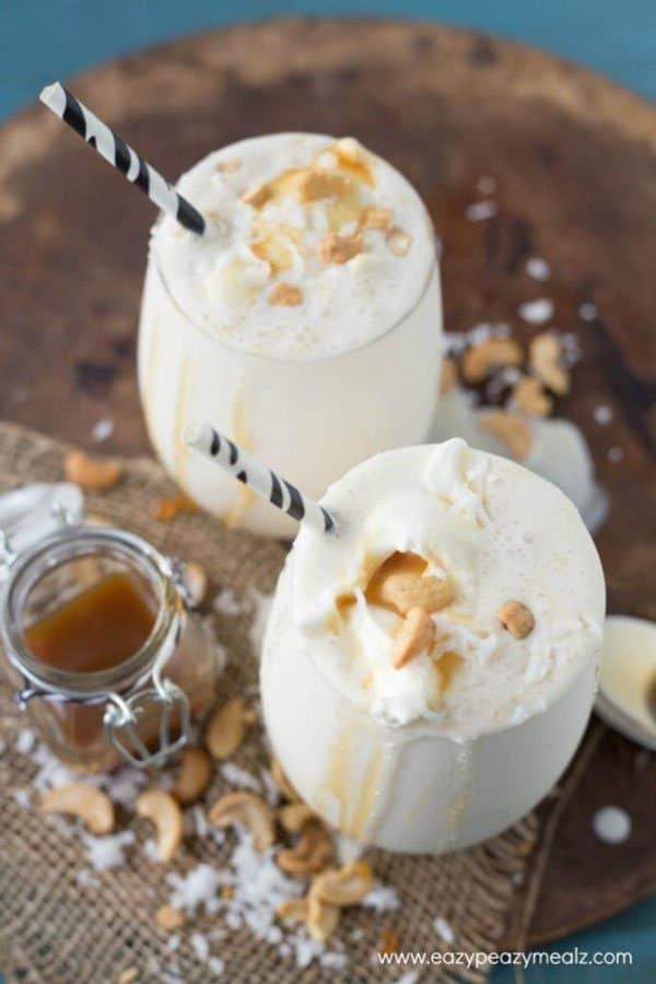 Caramel Cashew Coconut Smoothie