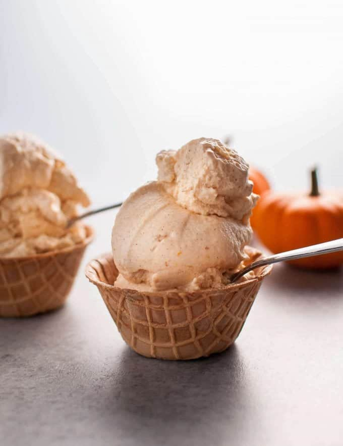 Cinnamon Pumpkin Ice Cream