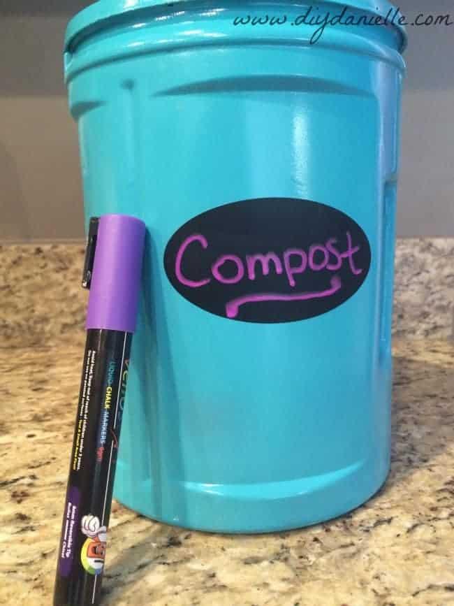 Coffee Can Compost Bin