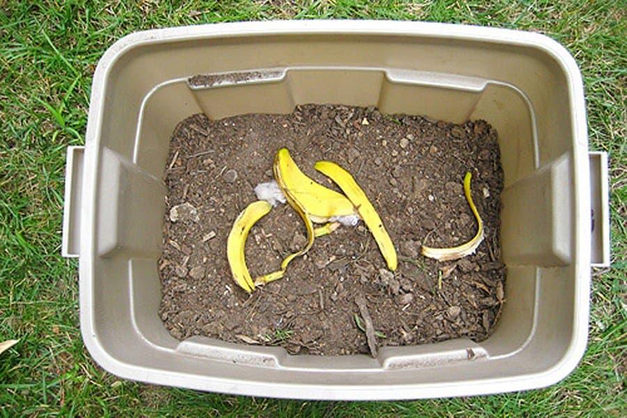 Rubber Tote Compost Bin