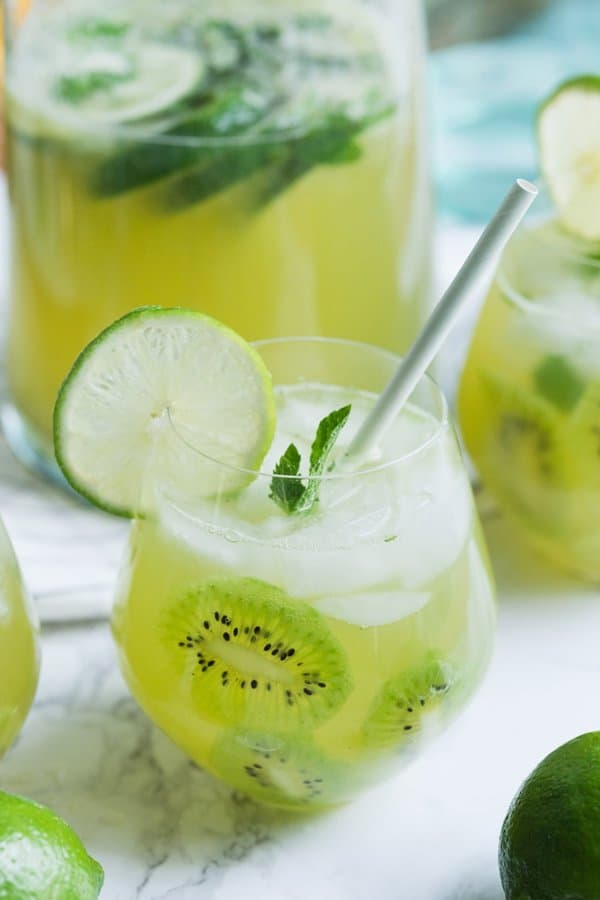 Kiwi Lime Mint Sangria