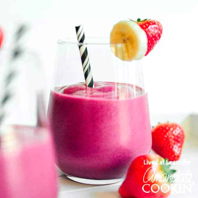 Strawberry Beet Smoothie