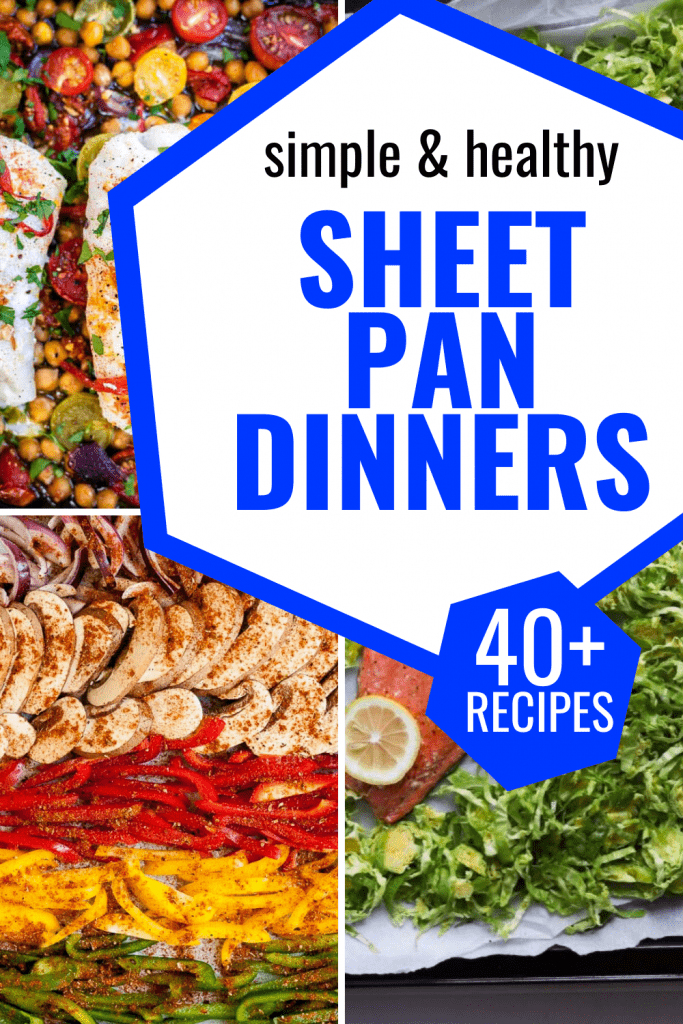 Sheet Pan Dinners Pinterest Image