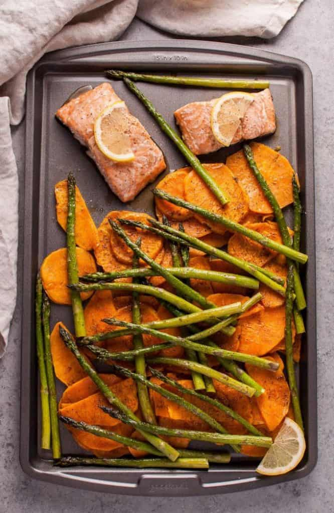Maple Sheet Pan Salmon