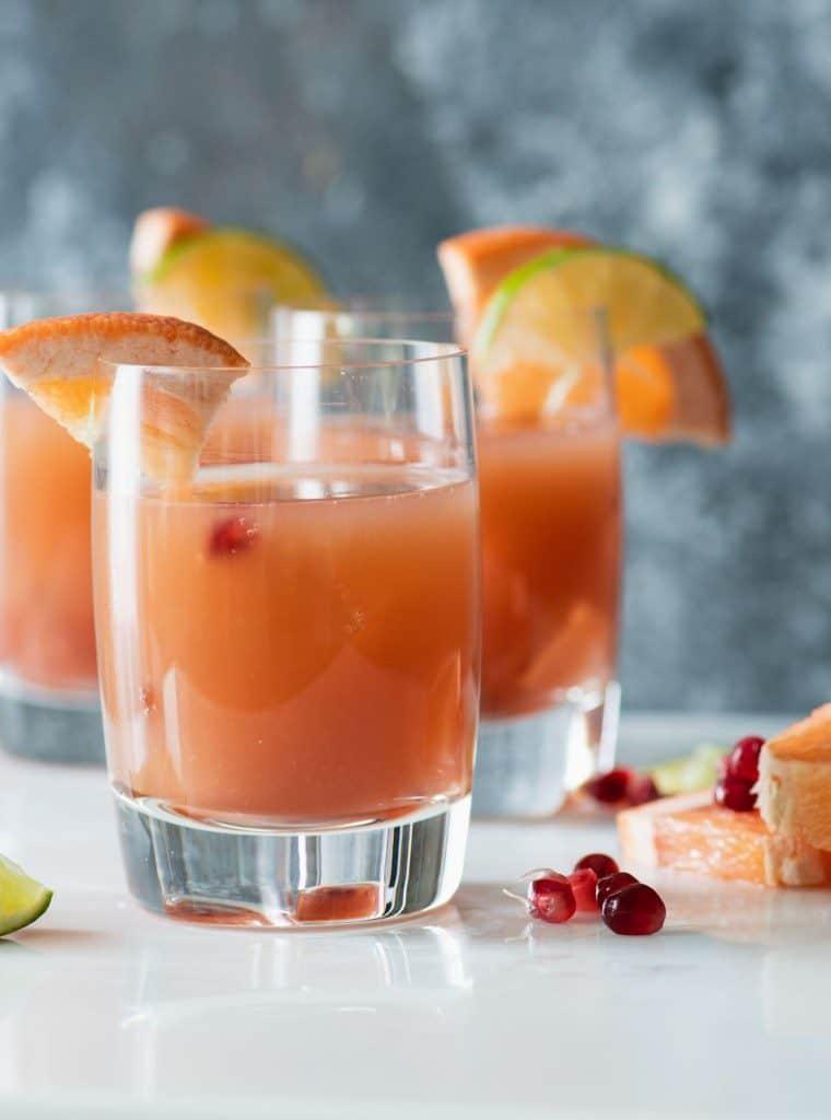 Pomegranate Paloma