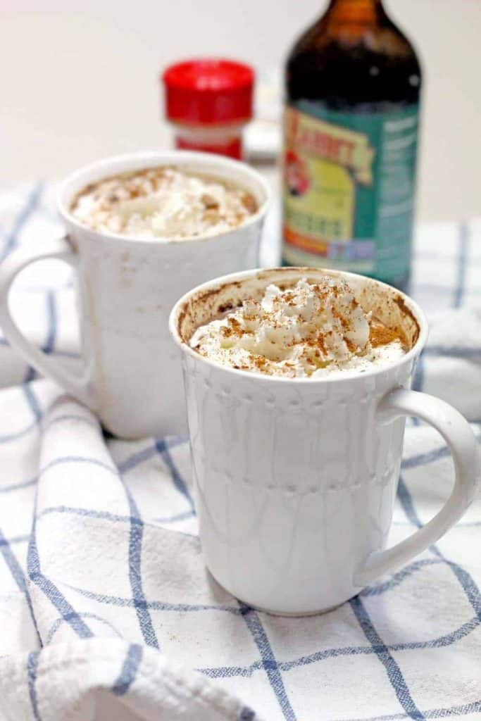 Mexican Maple and Molasses Hot Chocolate