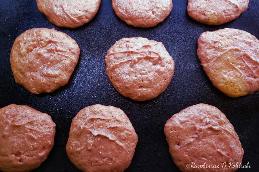 Pumpkin Pancakes Cooking