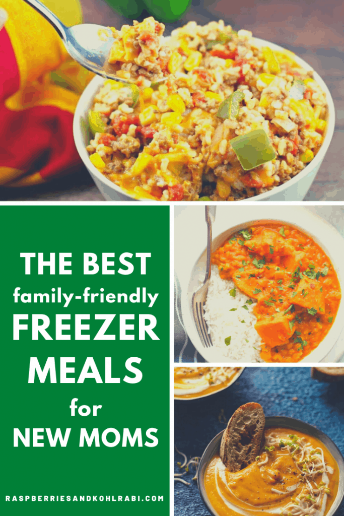 Family-Friendly Freezer Meals for New Moms