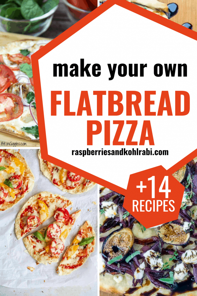 flatbread pizza pinterest image