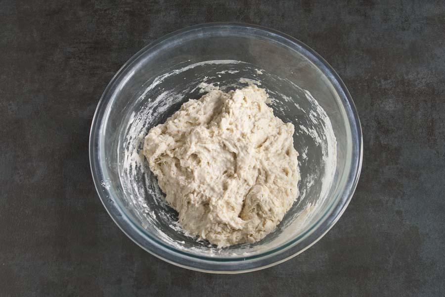 MixedSourdoug Discard Flatbread Dough