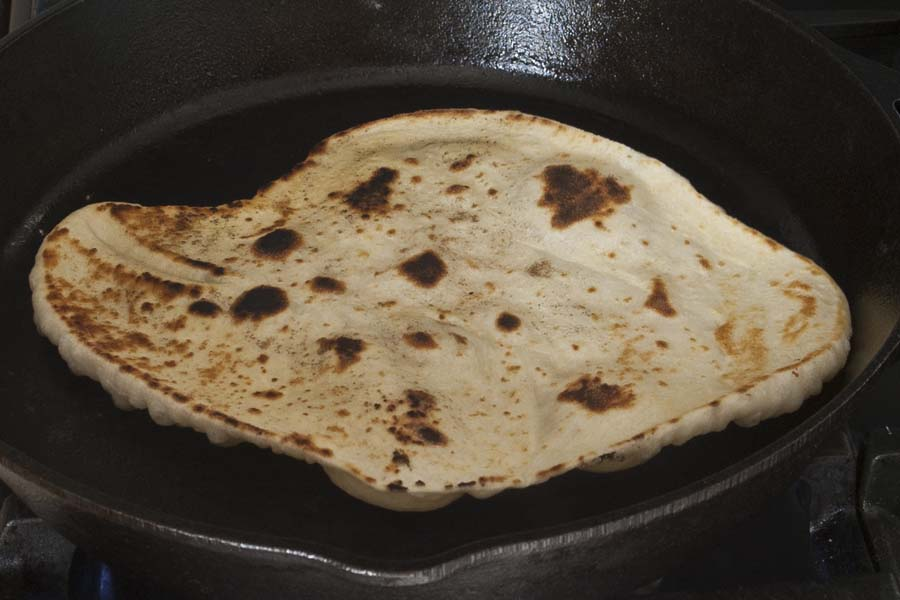 SourdoughDiscard Flatbread Cooking