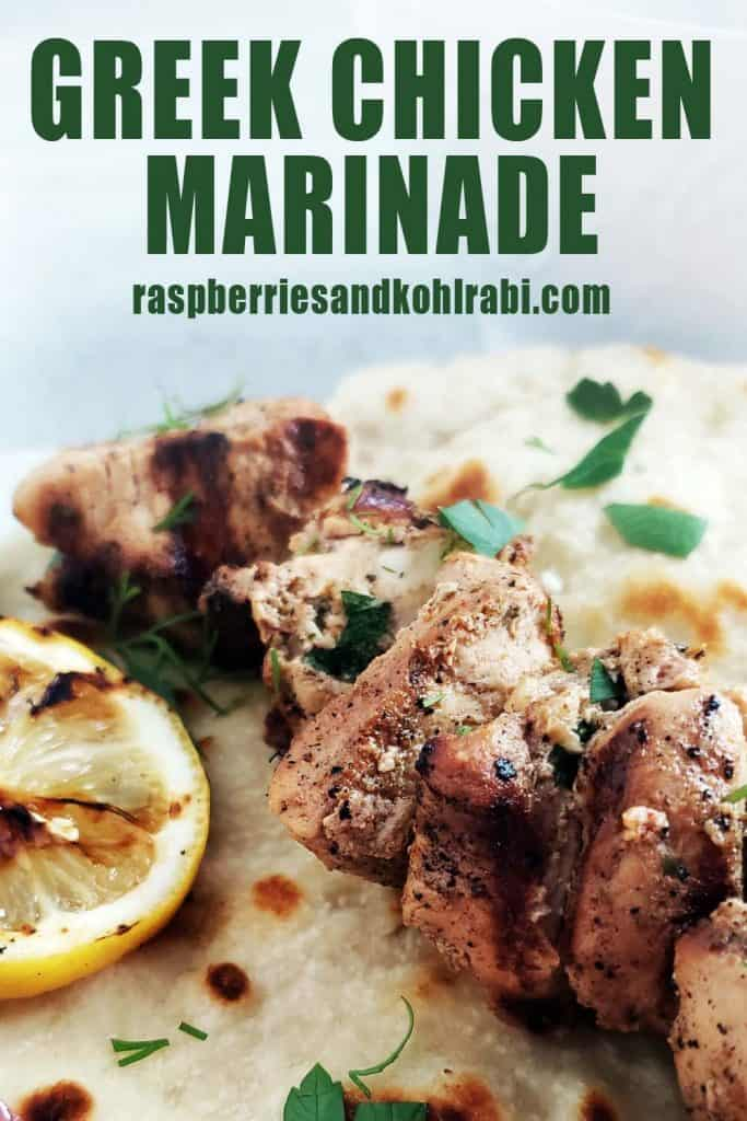 Greek Chicken Marinade Pinterest